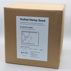 Hulled hemp seeds