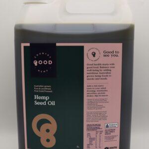 Hemp seed oil 5L